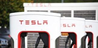 Tesla Charging Station เทสล่า