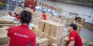 JD.com Logistics Staff