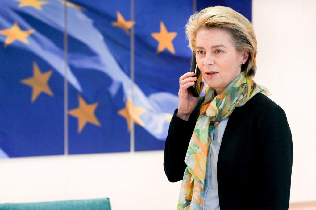 Ursula von der Leyen ประธานคณะกรรมาธิการยุโรป