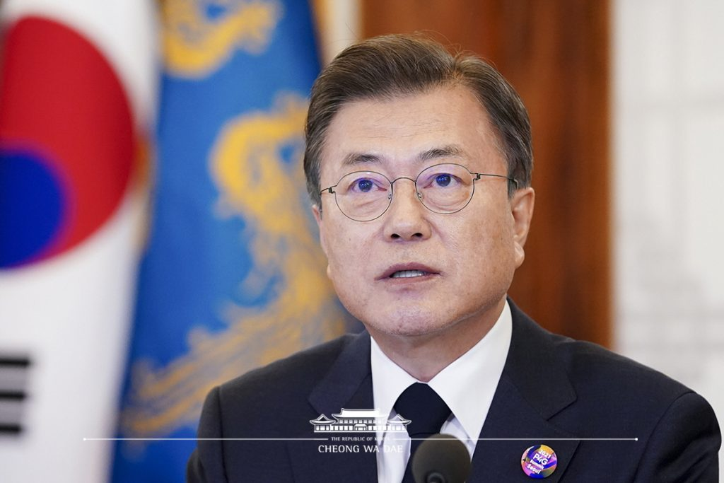 South Korea President Moon Jae-in