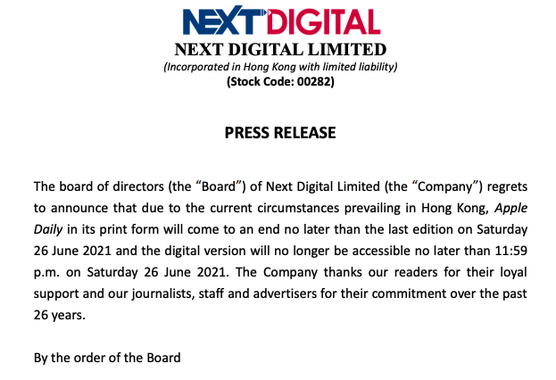 Next Digital-Apple Daily