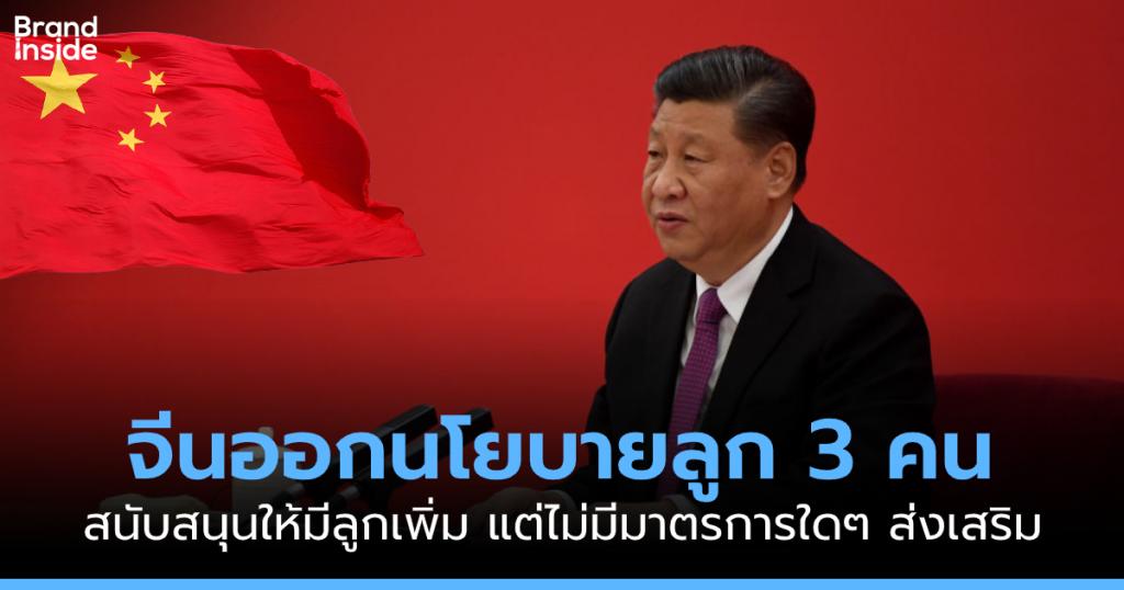 Xi Jinping Three child policy
