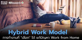 hybrid work model