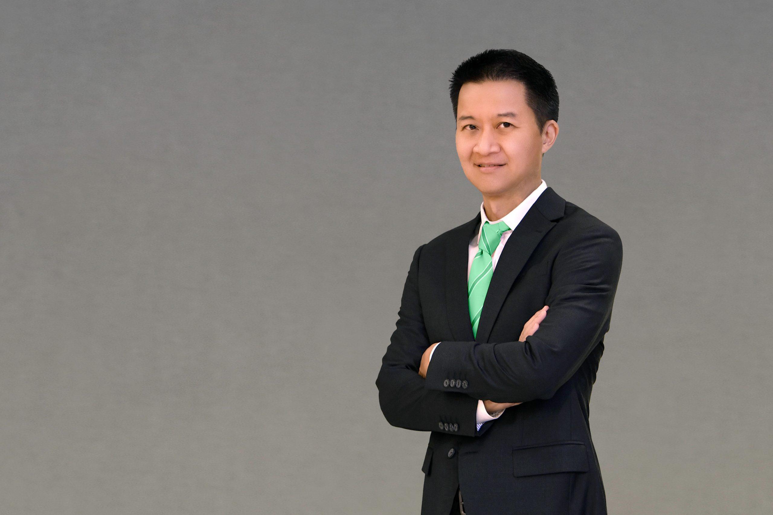 นายพัชร สมะลาภา กรรมการผู้จัดการ ธนาคารกสิกรไทย